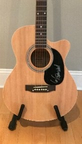 Signed Guitar by Lee Greenwood #233