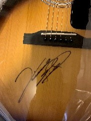 Signed guitars by Vince Gill #453